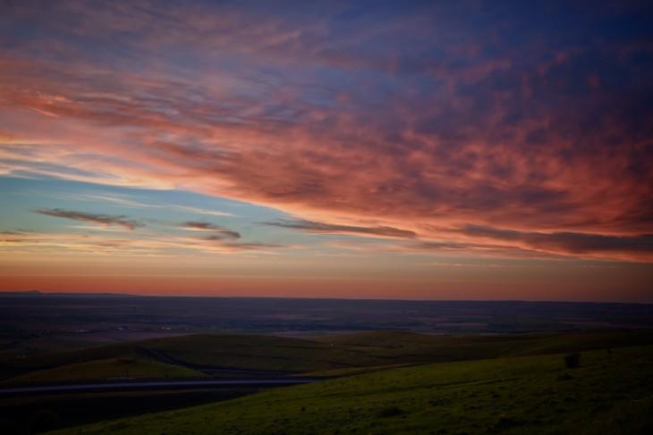 pendleton-sunset